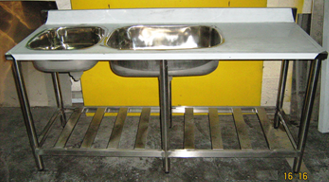 Stainless Steel Sink Benches Nds4 144 42 56